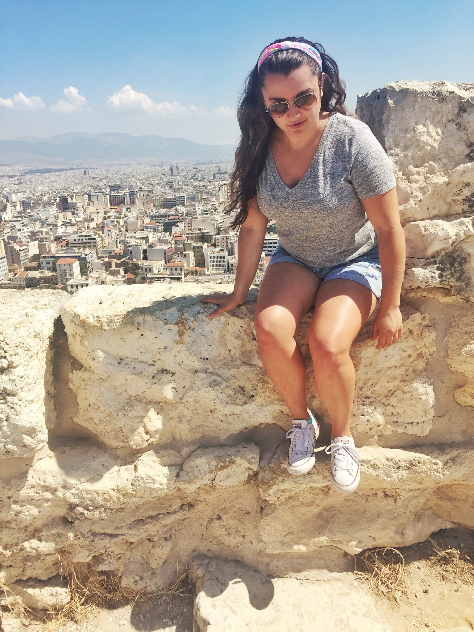 athens acropolis greece | The Best Greek Islands: the Ultimate Guide featured by popular San Diego travel blogger, The Brunette & The Beach: Athens
