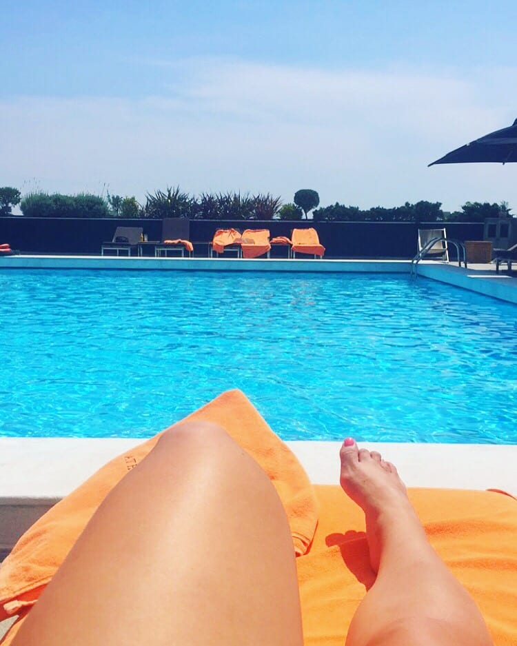 athens rooftop pool greece | The Best Greek Islands: the Ultimate Guide featured by popular San Diego travel blogger, The Brunette & The Beach: Athens