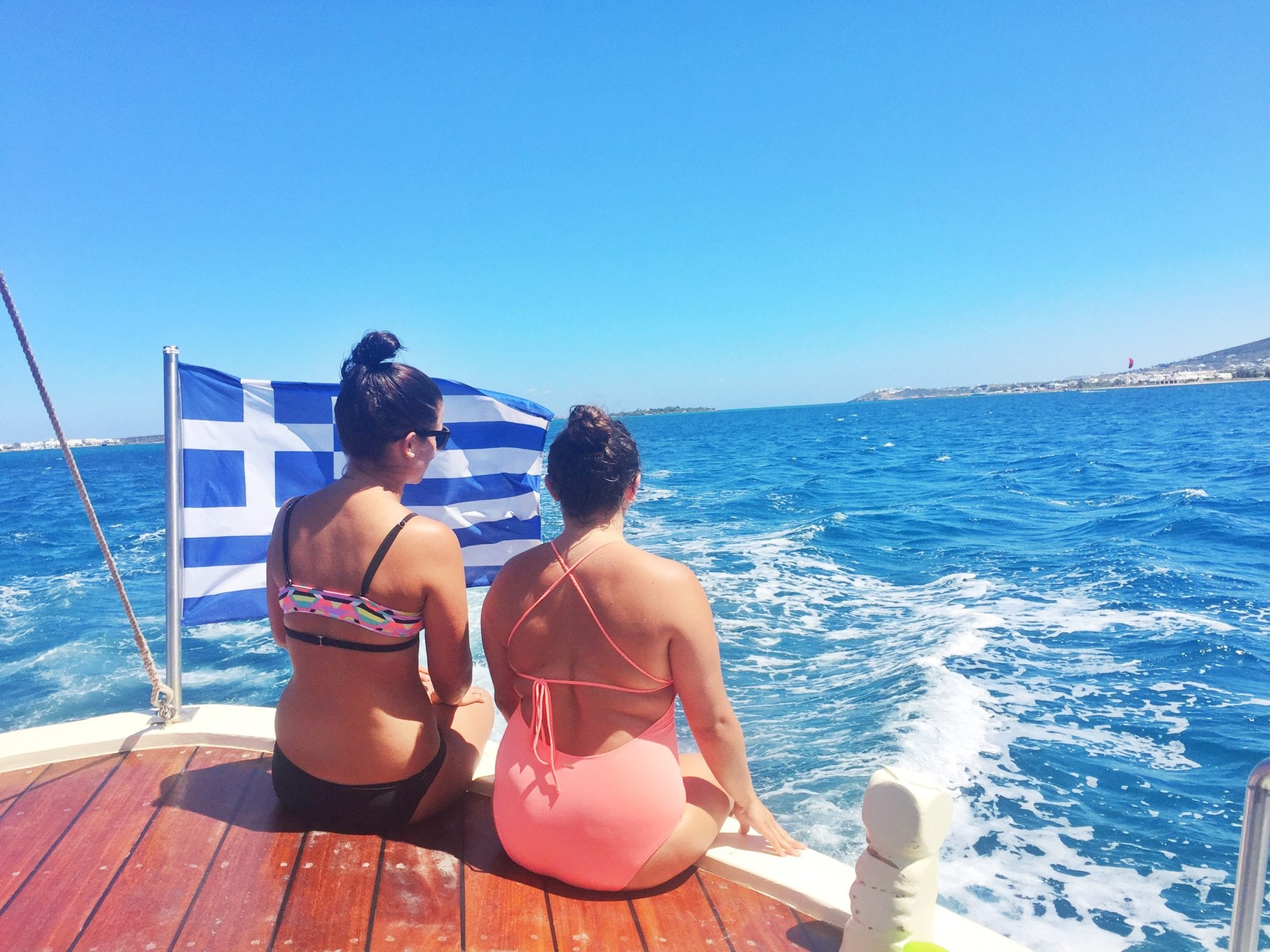 paros greeceocean boat cruise | The Best Greek Islands: the Ultimate Guide featured by popular San Diego travel blogger, The Brunette & The Beach: Paros