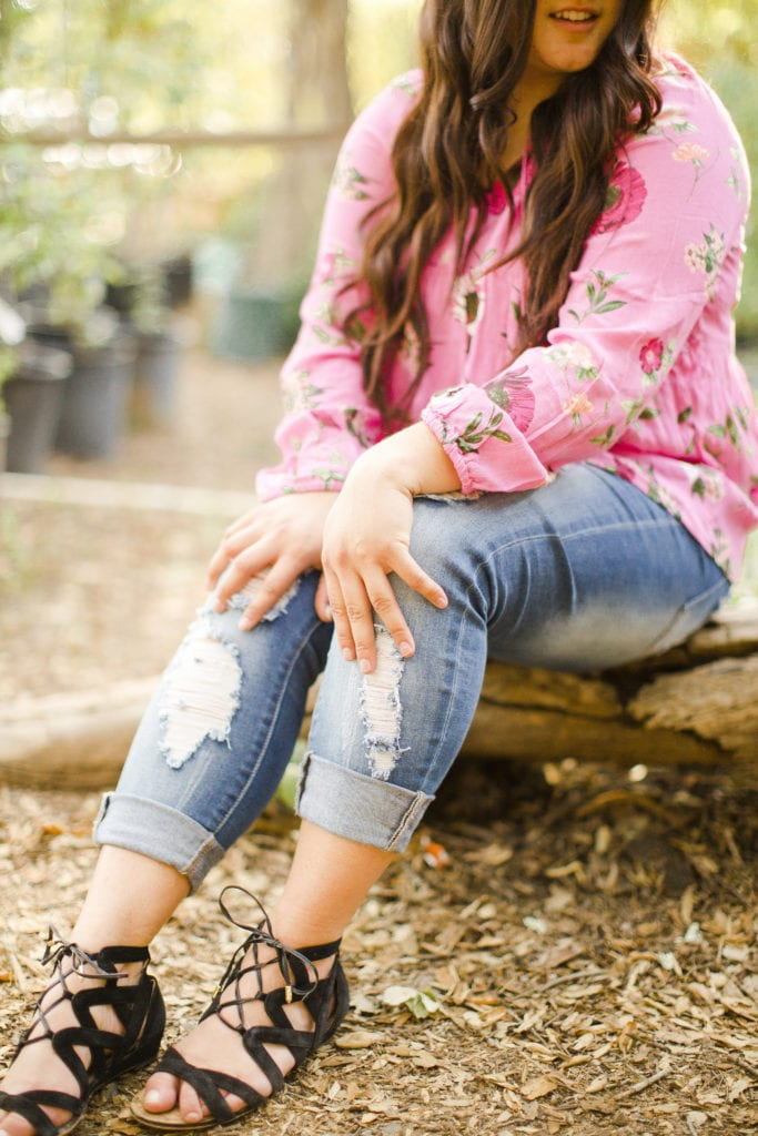 ripped jeans for spring