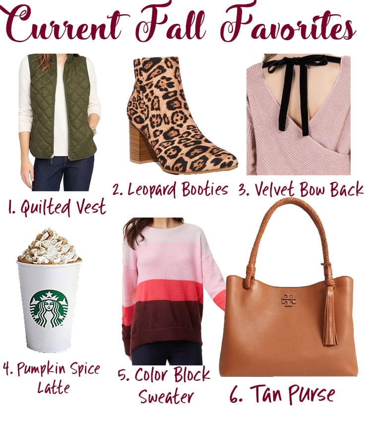 Favorite Fall Essentials featured by popular San Diego fashion blogger, The Brunette & The Beach