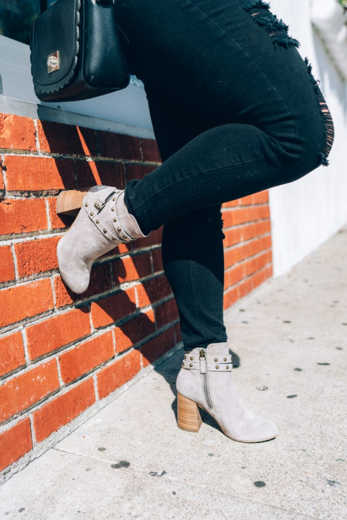 Fall Grey Booties