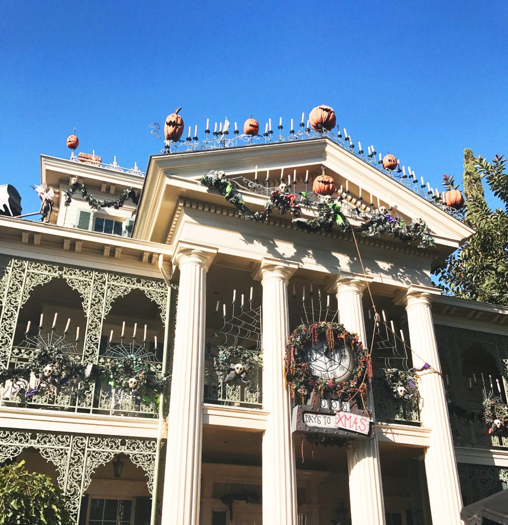 Halloween at disneyland featured by top San Diego travel blog, The Brunette & The Beach
