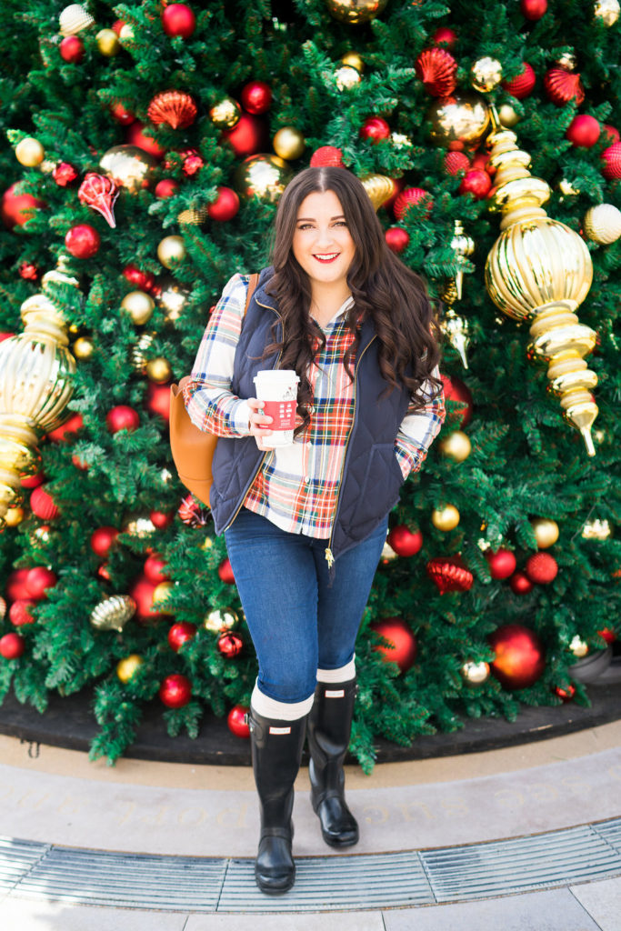 JCrew Festive Holiday Outfit