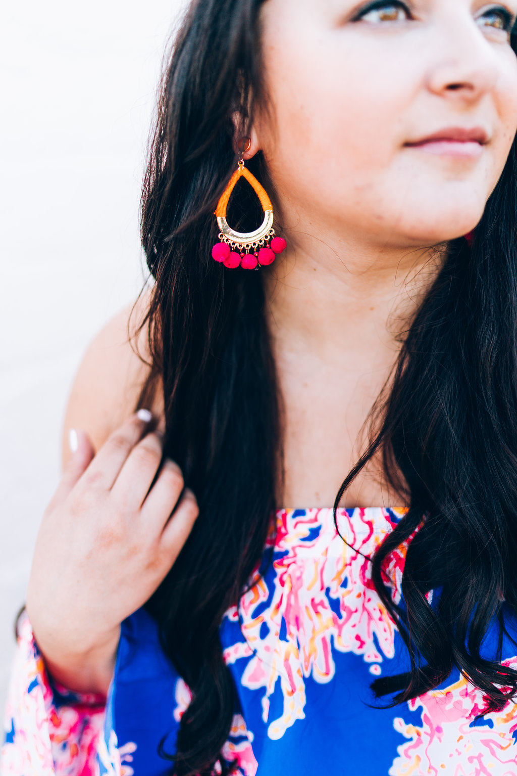 Spring Bright Statement Earrings