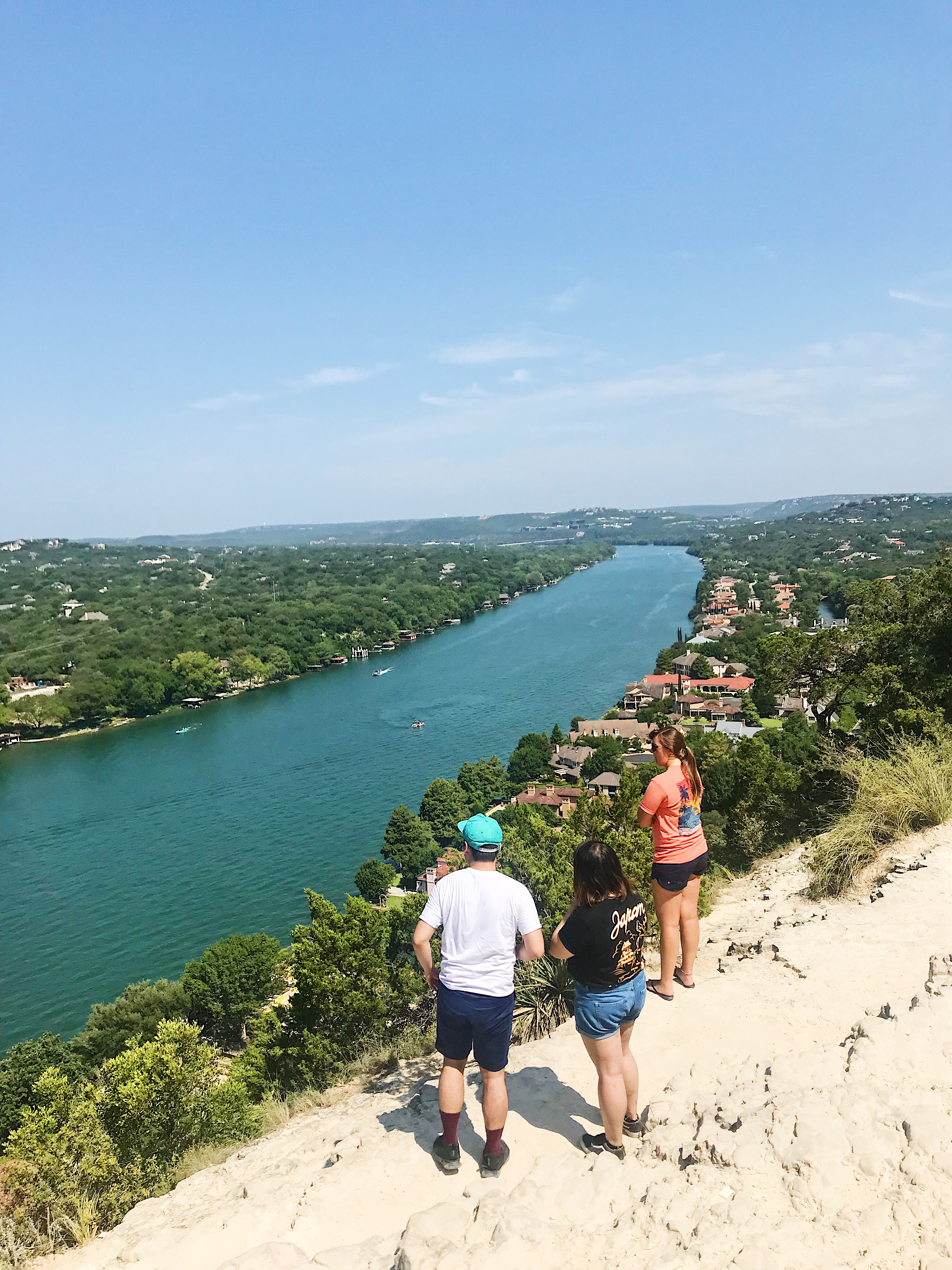 The Best Things To Do In Dallas You'll Want to Do featured by popular San Diego travel blogger, The Brunette & The Beach: Mt Bonnell