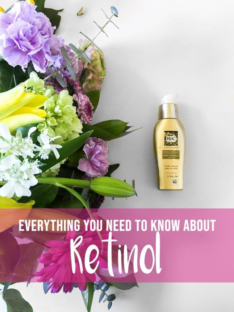 Benefits Of Retinol featured by top US beauty blog, The Brunette & The Beach