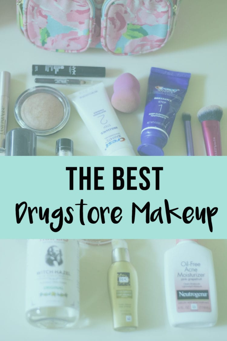 Best Drugstore Makeup for Spring featured by top US life and style blog, The Brunette & The Beach