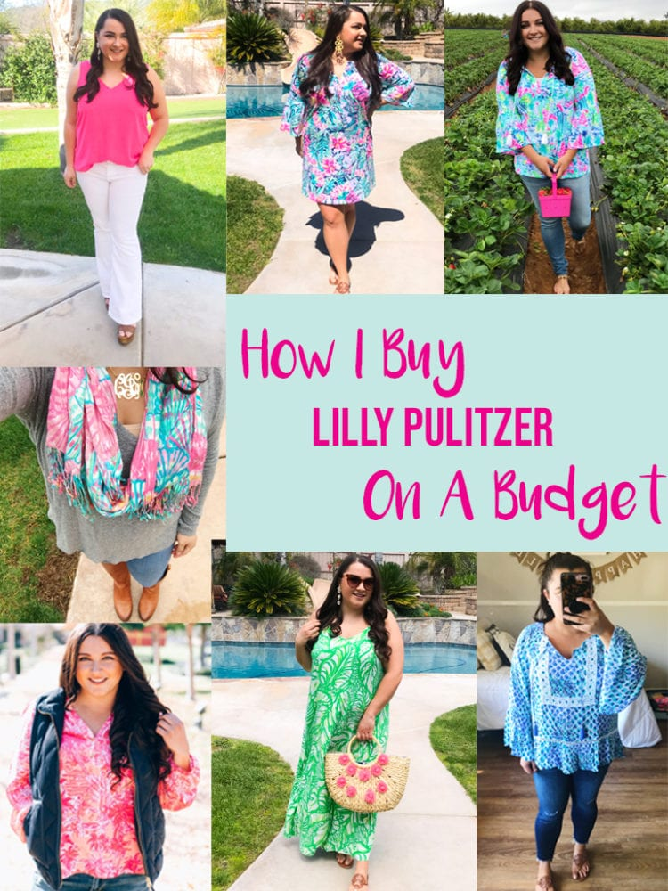 Where to Get the Best Lilly Pulitzer Discounts featured by top US fashion blog, The Brunette & The Beach