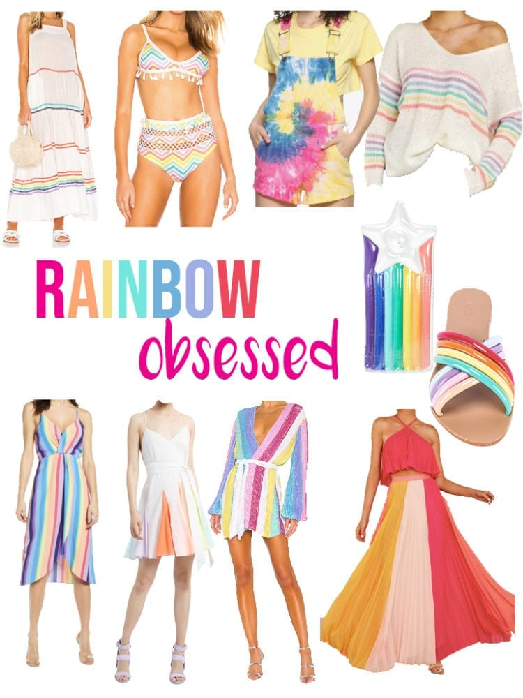 Rainbow Pieces For Spring