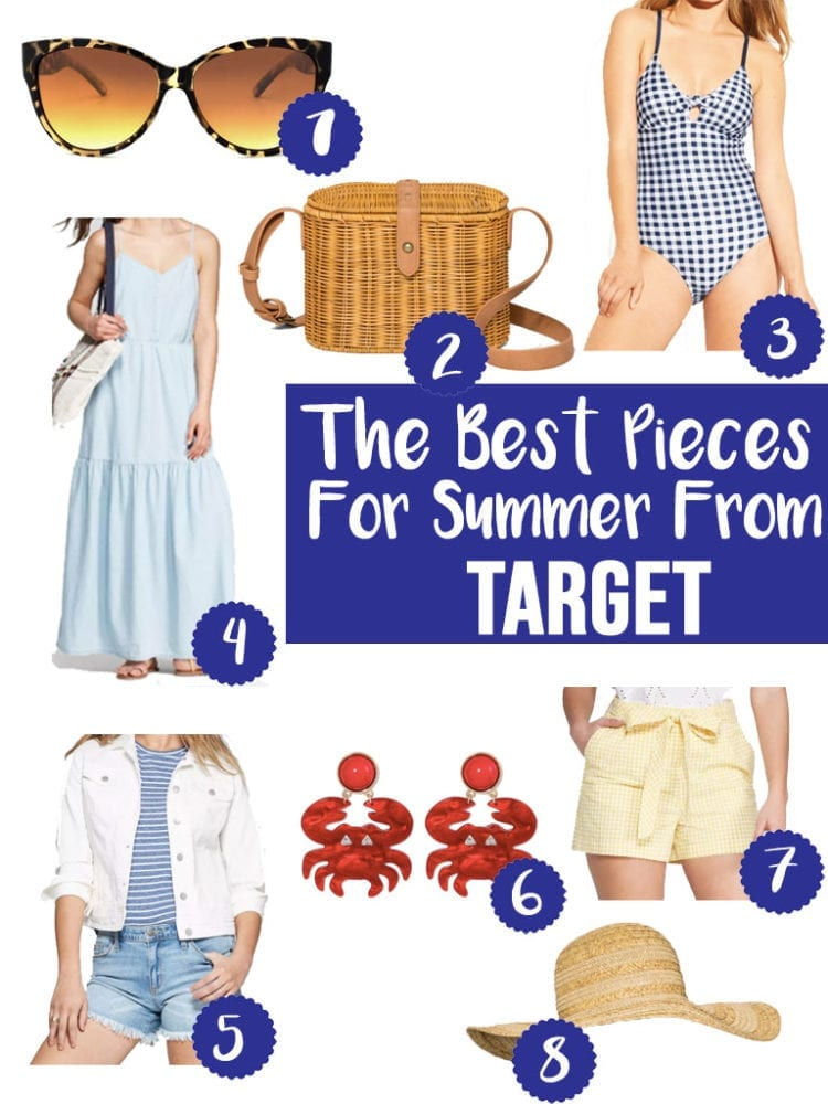 Top 8 Summer Favorites from Target for top US life and style blog, The Brunette & The Beach