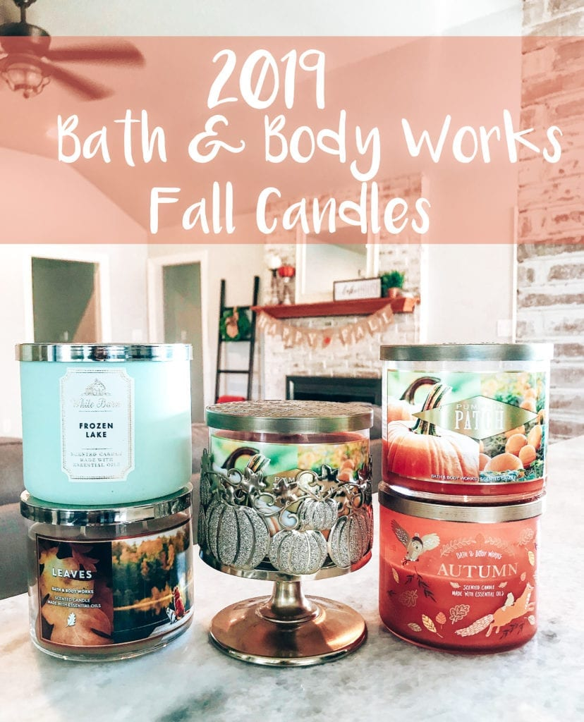 2019 Bath and Body Works Fall Candles