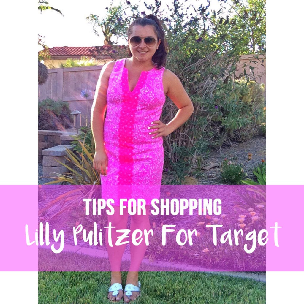 Lilly Pulitzer for Target 2019 by popular Southern California fashion blog, The Brunette and the Beach: image of a woman wearing a Lilly Pulitzer for Target shift dress.