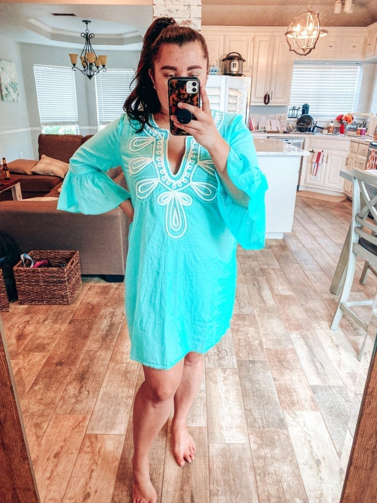 Lilly Pulitzer After Party Sale Haul |Lilly Pulitzer After Party Sale Haul by popular Southern California blog, The Brunette and the Beach: image of a woman wearing Lilly Pulitzer Piet Coverup