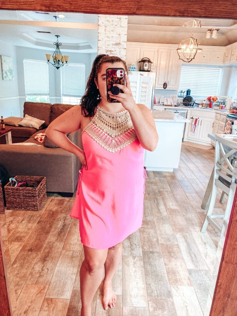 Lilly Pulitzer After Party Sale Haul | Lilly Pulitzer After Party Sale Haul by popular Southern California blog, The Brunette and the Beach: image of a woman wearing Lilly Pulitzer Pearl Romper.