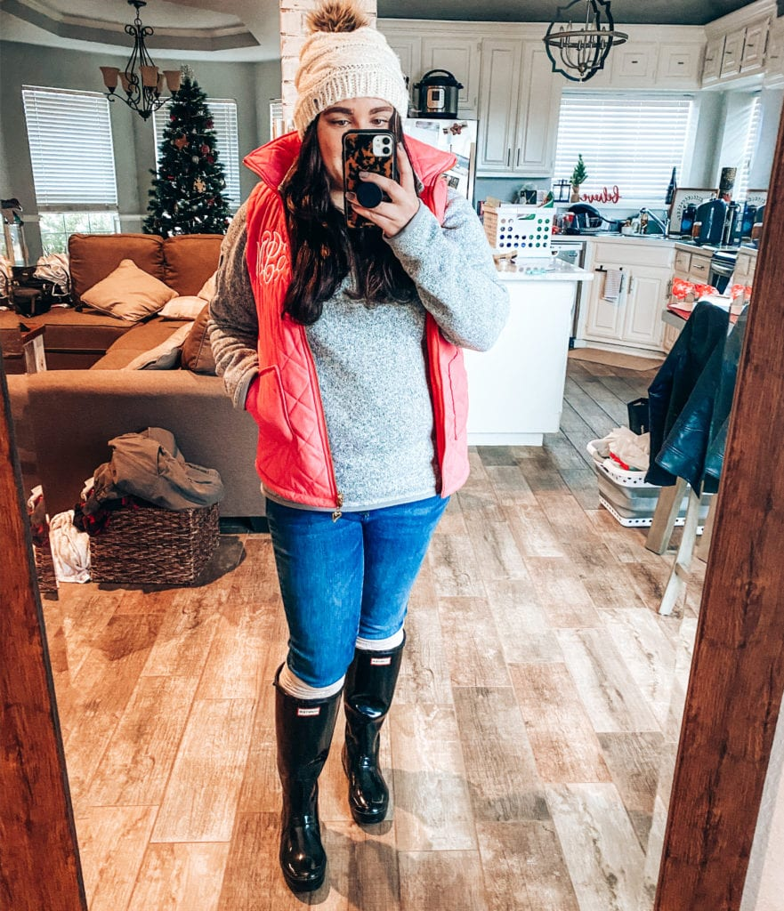january 2020 instagram outfit recap