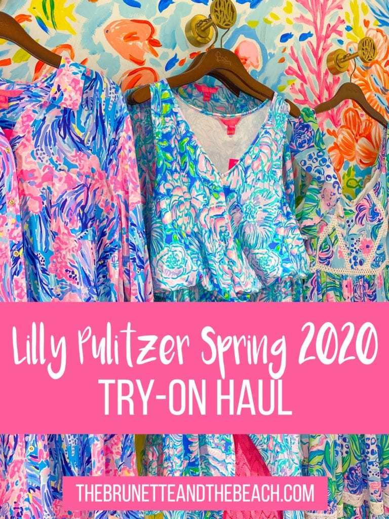Lilly Pulitzer Spring 2020 Try On